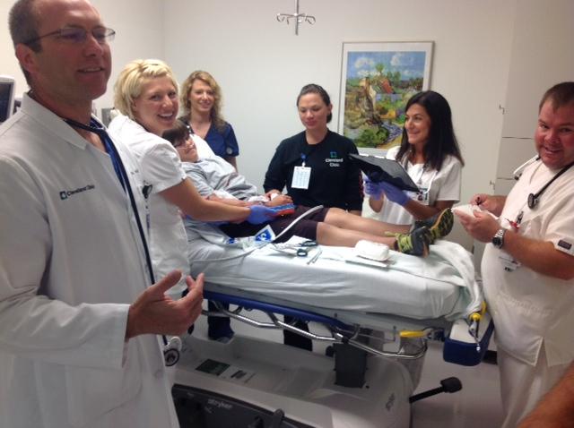Brunswick Hospital Emergency department mock drill