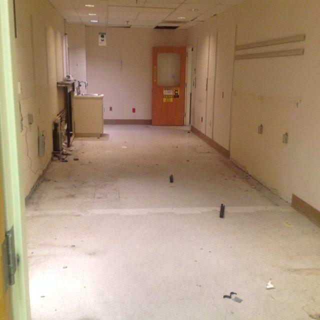 Flow lab after decommissing