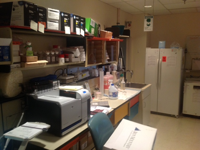 Flow lab before decommissing