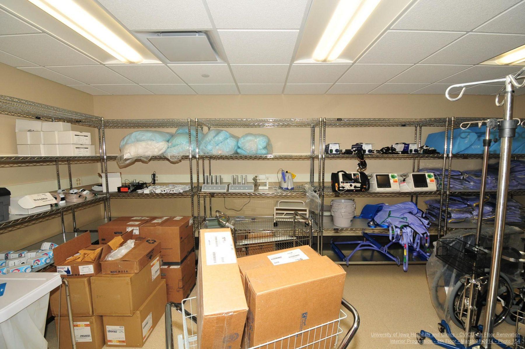 UIHC Cardio Vascular ICU General Storage