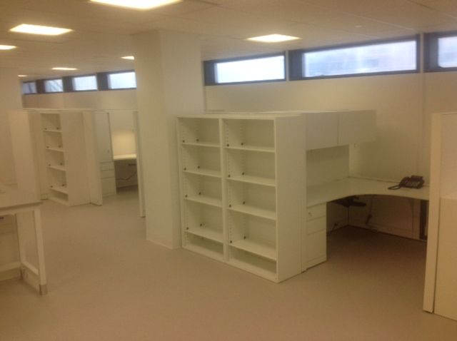 Manual Hematology area before move in