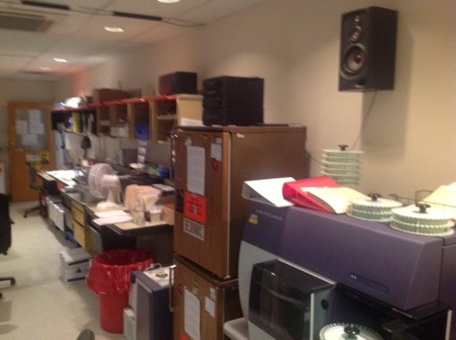 PLMI 3rd floor Flow Lab before