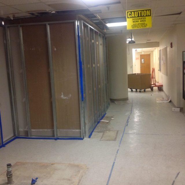 PLMI 3rd floor corridor after