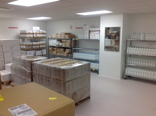 PLMI Warehouse First floor moved
