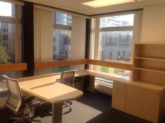 Physician offices before move in