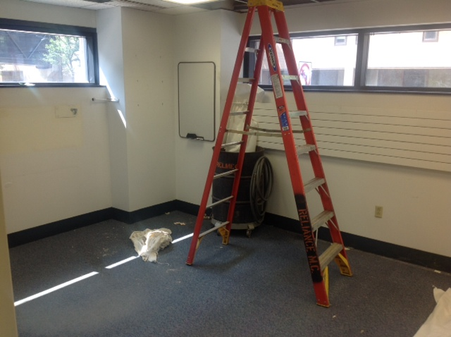 Physicians office after decommissioning