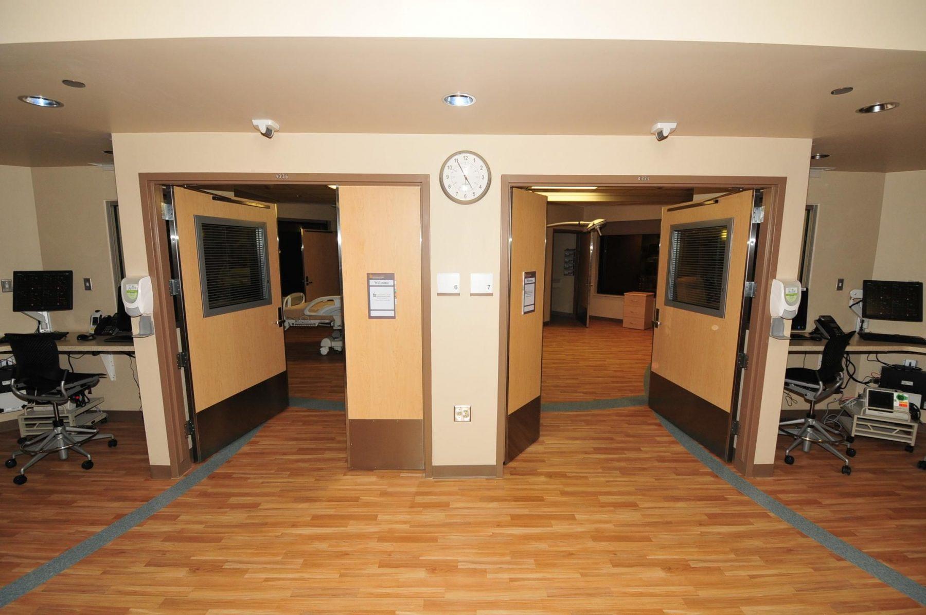 Pod 2 Room Entry