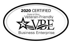 2020 Certified State of Ohio Veteran-Friendly Business Enterprise
