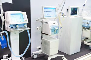 Medical equipment at the exhibition